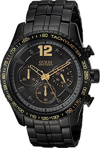 GUESS-Mens-Rugged-Black-Sport-Watch