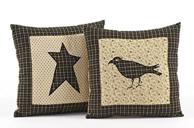 VHC Brands 7168 Kettle Grove Pillow Star 10 x 10