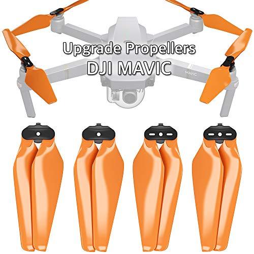 - MAS Upgrade Propellers for DJI Mavic Pro & Pro Platinum in Orange - x4 in Set