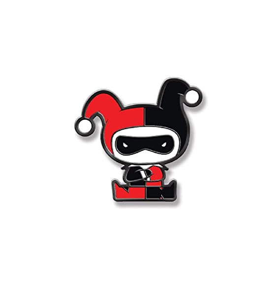 Ata-Boy DC Comics Harley Quinn Chibi 3//4 Full Color Enamel Pin