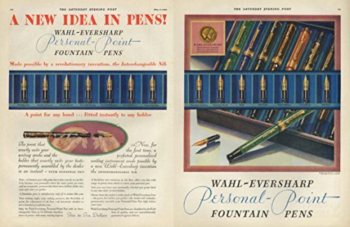 A New Idea in Pens! Wahl-Eversharp Personal Point Pens ad 1929 SEP