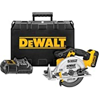 Deals on DeWalt DCS391P1 20V MAX Lithium Ion Circular Saw Kit