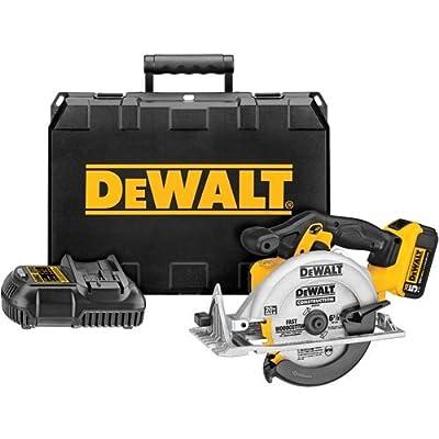 Image of DEWALT DCS391P1 20V MAX Lithium Ion Circular Saw Kit Home Improvements