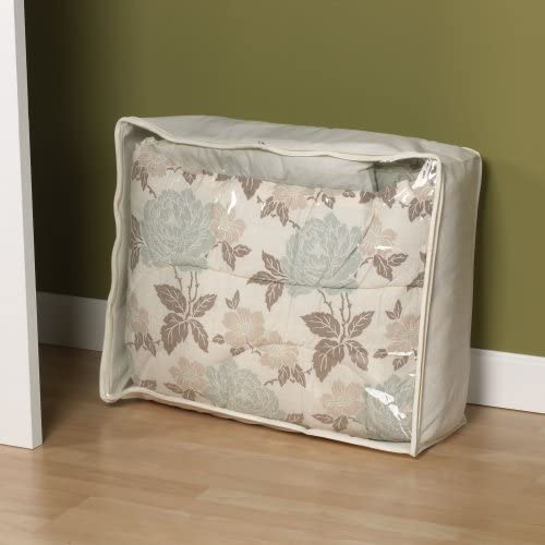 Household Essentials Blanket Storage Bag - Natural Canvas