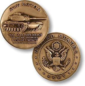 M-60 Patton Army Challenge Coin