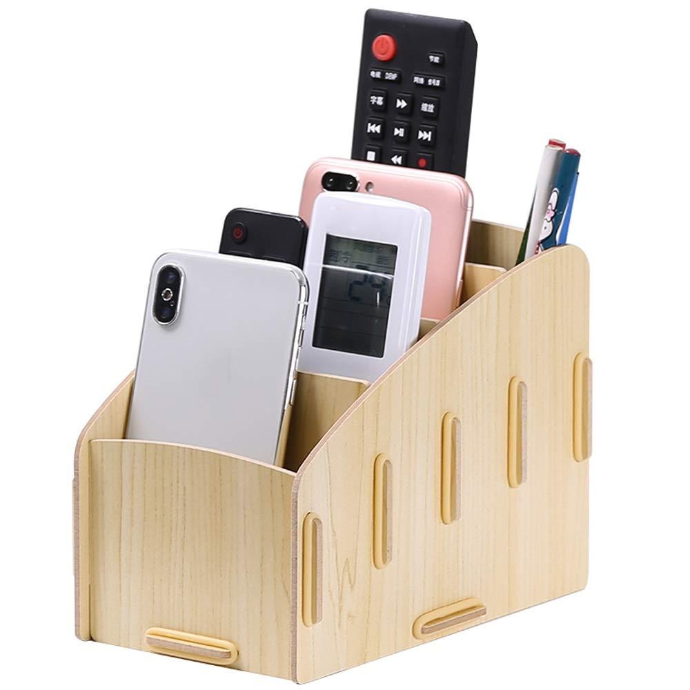 GaoJinZhuan TV-Fernbedienung Aufbewahrungsbox Nordic Home Wohnzimmer Kreative Desktop-Aufbewahrungsbox Multifunktions-Handy-Aufbewahrungsbox (Farbe   Weiß Maple) B07LBCB3LJ   Wonderful