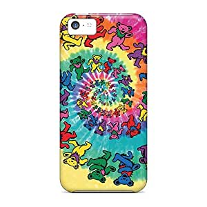 Shock Absorption Cell-phone Hard Cover For Apple Iphone 5c (AOV758KpmV) Support Personal Customs Realistic Grateful Dead Series