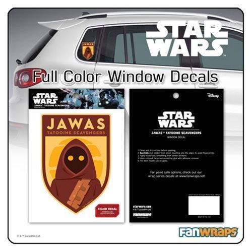 Jawa Star Wars - Star Wars Jawa Tatooine Scavengers Window