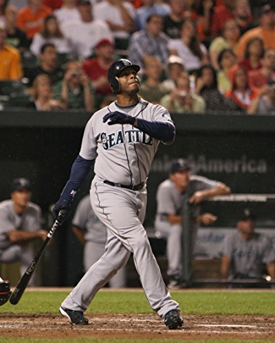 Blooming flowers Griffey Jr Ken photo poster Mariners Seattle Baseball 24x36inches (Sexy Thanksgiving Pictures)