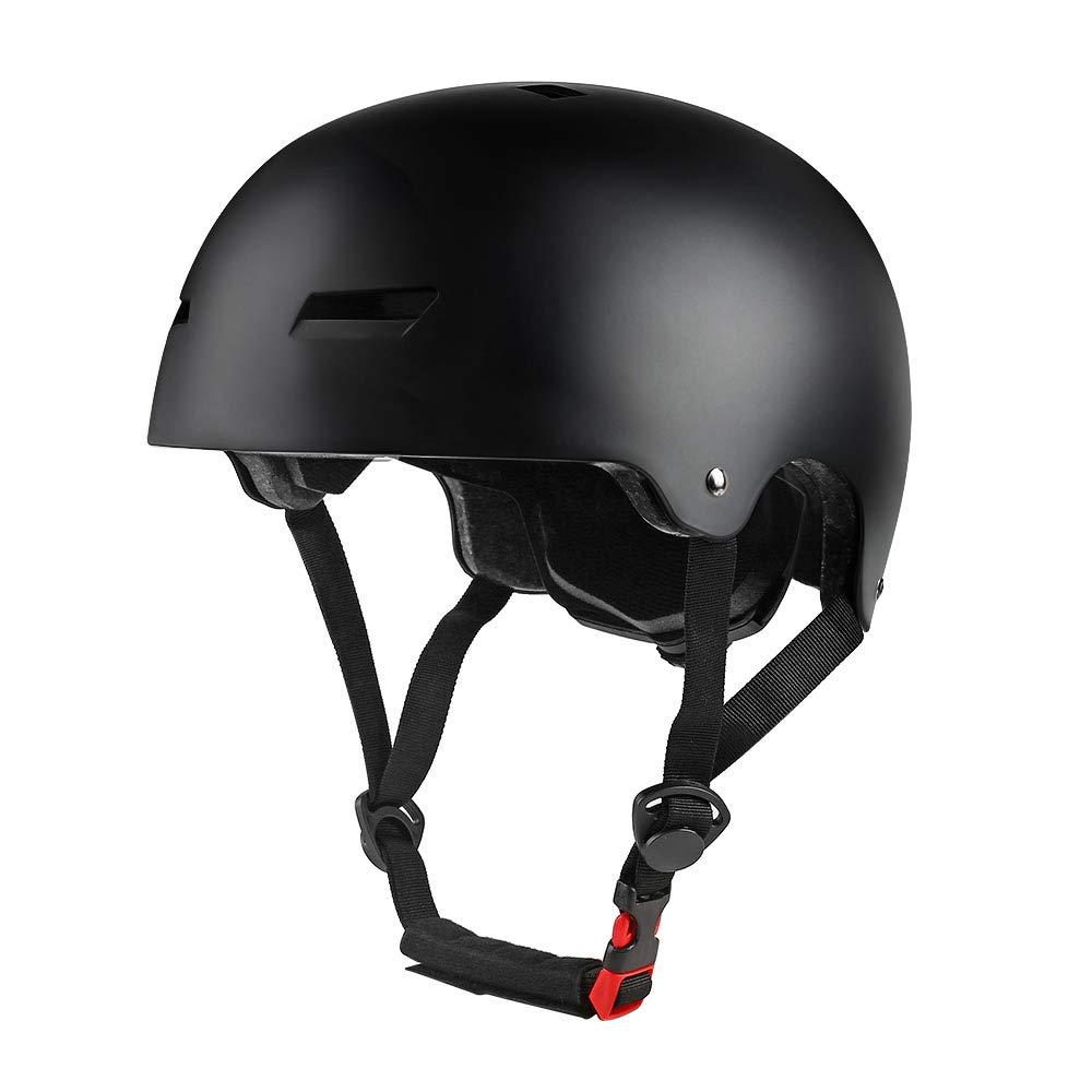 PHZING Skateboard Helmet with Adjustable System Ideal for Skateboard Longboard Scooter Skate/Inline Skating for Adults/Youth/Kids