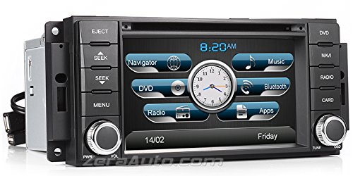 Country Junction Phone - 2007-2015 Jeep Wrangler 2008-2013 Jeep Liberty 2009-2012 Dodge RAM 1500 2500 20010-2012 RAM 3500 2008-2015 Dodge Grand Caravan 2007-2012 Dodge Nitro 2008-2014 Chrysler Town & Country In-Dash Navigation Stereo GPS DVD CD MP3 AVI USB SD Radio Bluetooth Hands-free Steering Wheel Controls Touch Screen iPod iPhone-Ready AV Receiver Video Audio Player Multimedia Infotainment System w/ Digital TV Rear View Camera Option OEM Replacement Deck