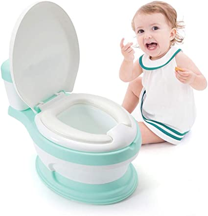 HLWAWA Tocador para inodoro portátil para niños Tocador para ...