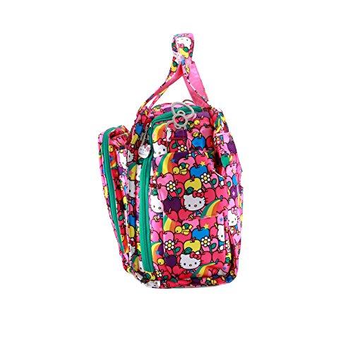 Ju-Ju-Be HK LS BeP - Bolso cambiador, diseño Hello Kitty Lucky Stars, multicolor