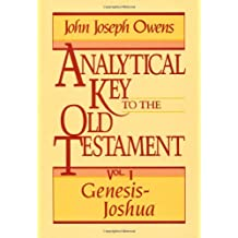 Analytical Key to the Old Testament, v. 1 (Genesis-Joshua)