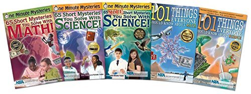 Deluxe Smart Kid Book Set (One Minute Mysteries) by Eric Yoder - Channel Set Dia