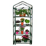 Homewell 4 Tier Mini Greenhouse 27″L x 19″W x 62″H For Sale