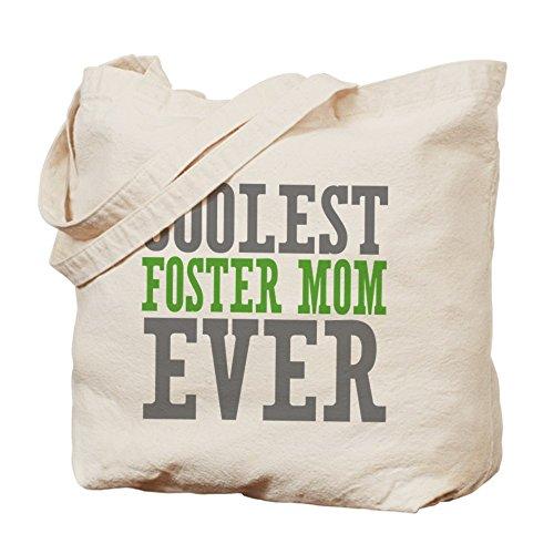 CafePress Unique Design Coolest Foster Mom Tote Bag - Standard Multi-color by CafePress