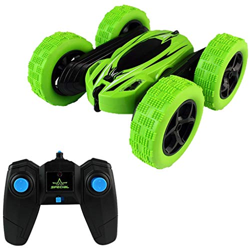 Remote RC Car RC Car Remote Control 4WD Stunt Car Rechargeable 360 Double Sided Race RC Car Flips Off Road 2.4GHz High Speed RTR RC Trucks