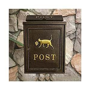 Buzón de Cartas Alf Zinc Alloy Puppy Mailbox buzón montado ...