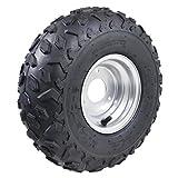 TDPRO 145/70-6 ATV Go Kart Quad Tires and Rims | 4PR Wheels