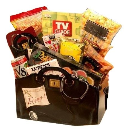 A Perscription to Get Well Gourmet Gift Box by The Gift Basket Gallery