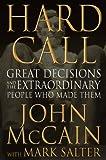 Hard Call, John McCain, 0446580406