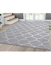 Mia's tapijten Anna modern woonkamertapijt laagpolig 12 mm patroon, 100% polyester