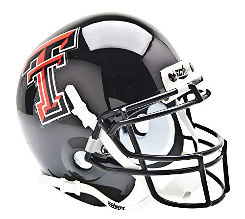 Schutt NCAA Texas Tech Red Raiders Mini Authentic XP Football Helmet