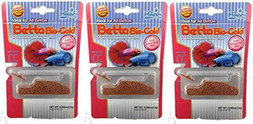 Hikari Betta Bio-Gold Baby Pellets Fish Food Bundle Bonus Pack 3 - Betta Food