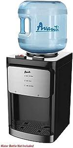 Avanti WDT40Q3SIS Countertop Dispenser Water Cooler, Black