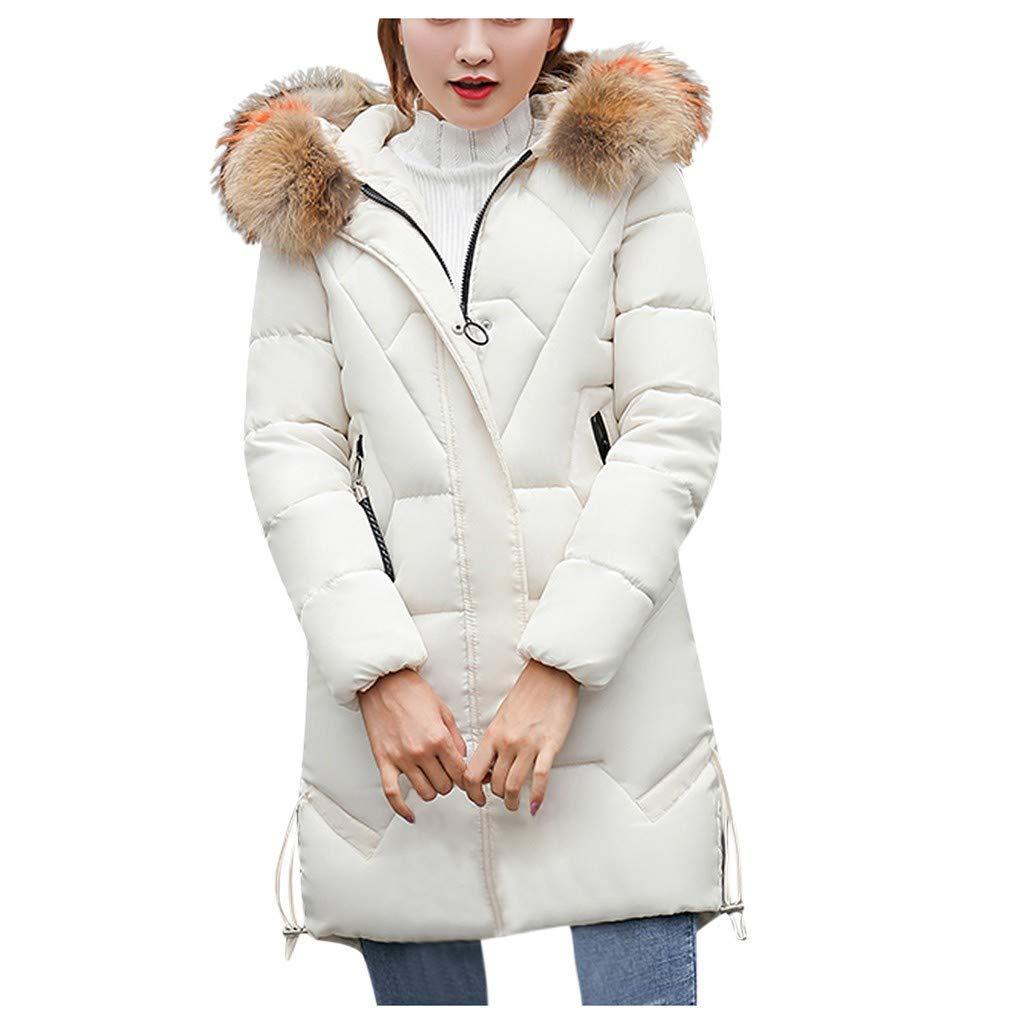 JMETRIE 2019 Womens Ultra Soft Puffer Coat Winter Warm Parka Lightweight Jacket with Faux Fur Trim Plus Size