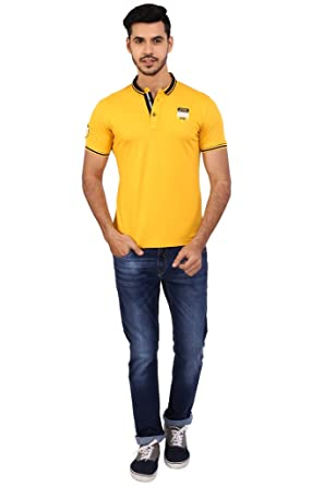 f189e258b Daagwood Men's 100% Cotton Half Sleeve Regular fit Collar Plain ...
