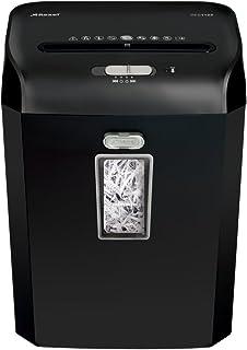 Rexel Promax RES1123 Aktenvernichter für persönliche/geschäftliche Zwecke, Streifenschnitt, Manueller Einzug, 23L Abfallbehälter, 12 Blatt Kapazität,, Schwarz,  2101829A