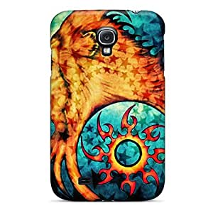 New VaUHLJE2695SnqhT Tribal Lion Tpu Cover Case For Galaxy S4