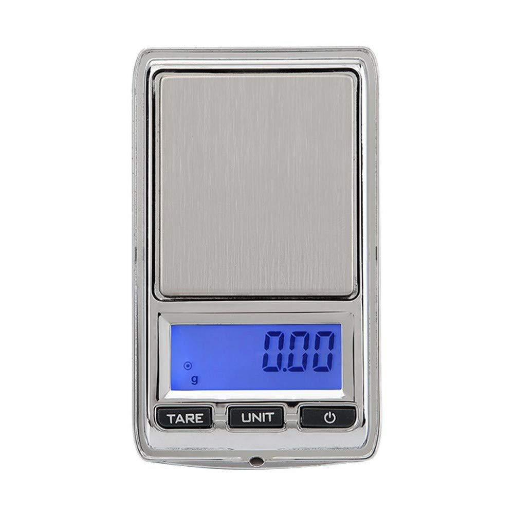 Portable MilliGram Digital Pocket Scale,MeiLiio 500g/0.01g Precision Digital Jewelry Scales Mini Electronic Scale with LCD Backlight Electronic Bench Weight Scales for Jewelry Coins Reload Kitchen