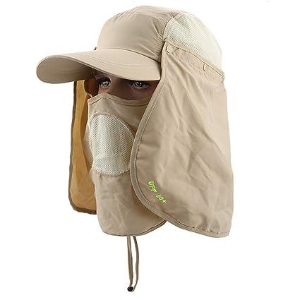 281e1df510702 Amazon.com   Fishing Hat Shade Hat Outdoor Sun Caps Flap Hats
