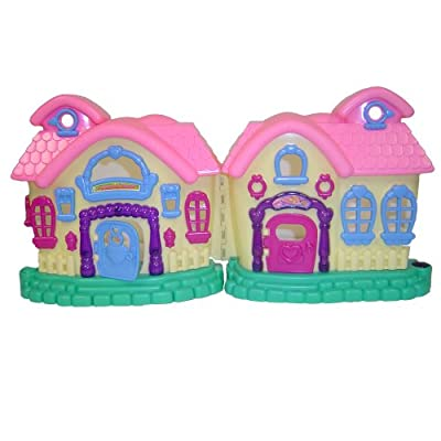 Weglow International My Sweet Home Doll House And Play Set by WeGlow International
