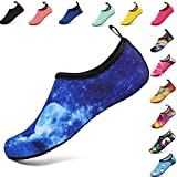 XMiniLife Unisex Water Sports Shoes Quick-Dry Barefoot Aqua Socks for Beach Swim Surf Swimming Yoga Exercise