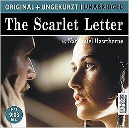 The Scarlet Letter Der Scharlachrote Buchstabe Mp3 Cd Die