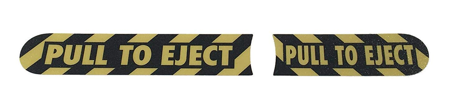 Pull To Eject decal sticker kit for Jeep Wrangler JK JKU