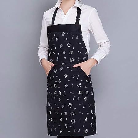 2 Stücke Kochen Küche Schürze für Frau Männer Chef Kellner Cafe Shop