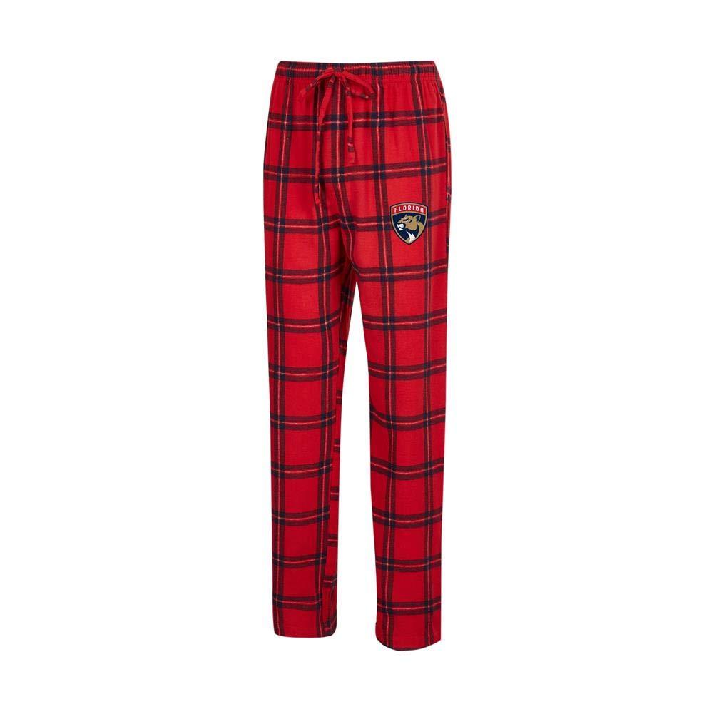 ac0fee9e4c2 Amazon.com   Concepts Sport Florida Panthers Men s Pajama Pants Plaid Pajama  Bottoms   Sports   Outdoors
