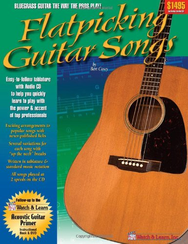 Flatpicking Guitar Songs Book audio product image