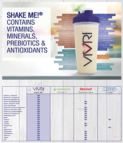 Vivri™ Essential Nutrition System (Shake Vanilla - Orange Mango - Pineapple Orange) by Vivri (Image #2)