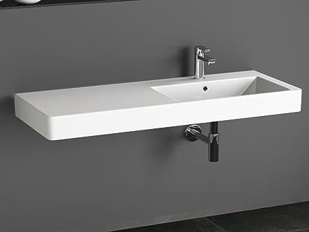 Aqua Bagno KP. 120.r Design Sink/Counter Top Basin 120x45 cm Ceramic ...