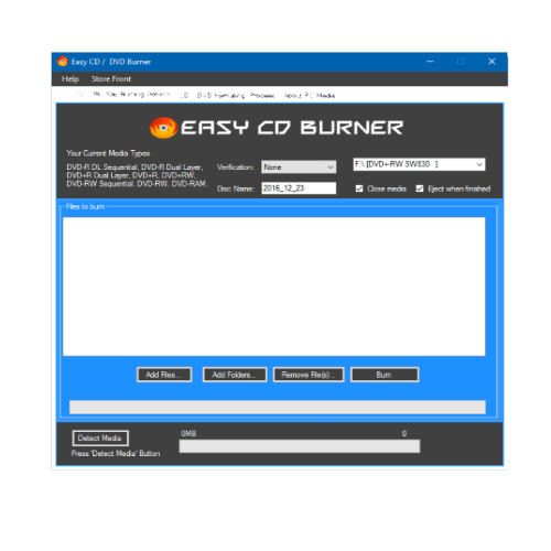 Easy CD Burner 2017 Updated 1 / 3 /2017 [Download]