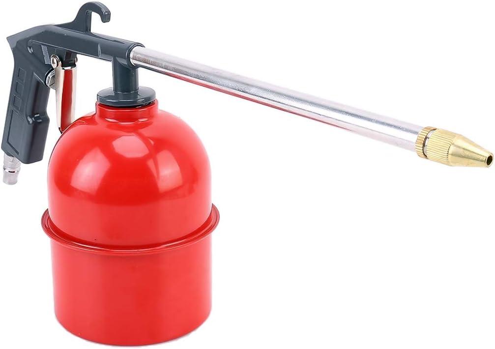 Nettoyeur lavantes Pistolet Spray nettoyant peinture pistolet avec pot Grande Puissance Airbrush Airless Pistolet for peinture Voiture pneumatique Outil A/érographe Pulv/érisateur