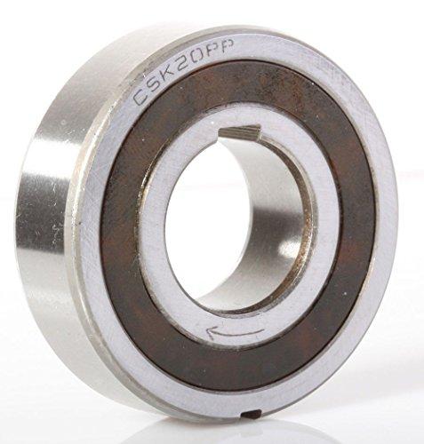 Sprag Clutch (CSK20PP 20mm Sprag Clutch One Way Bearing Internal & External Keyways 20x47x14mm by ACER Racing)