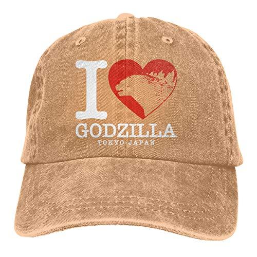 Obagaty God-Zilla Vintage Trucker Hats Cowboy Baseball Caps