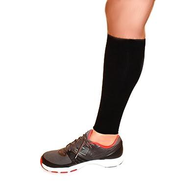Calf Compression Sleeve Running Training Exercise Athletic Leg Sleeve(Pair) Preferred Leg Compression Socks For Men & Women